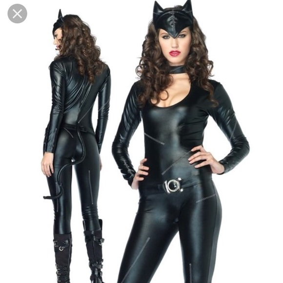 Cat Halloween costume ?  sc 1 st  Poshmark : catwoman costume leg avenue  - Germanpascual.Com